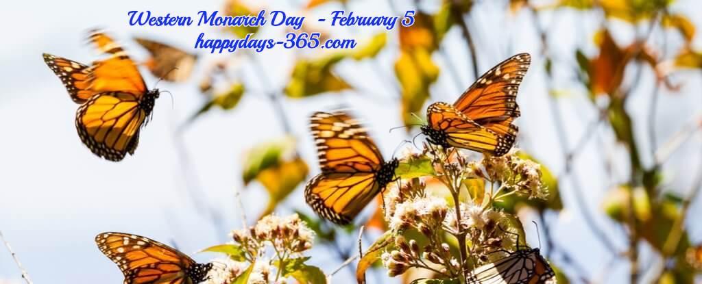 Western Monarch Day – February 5, 2020