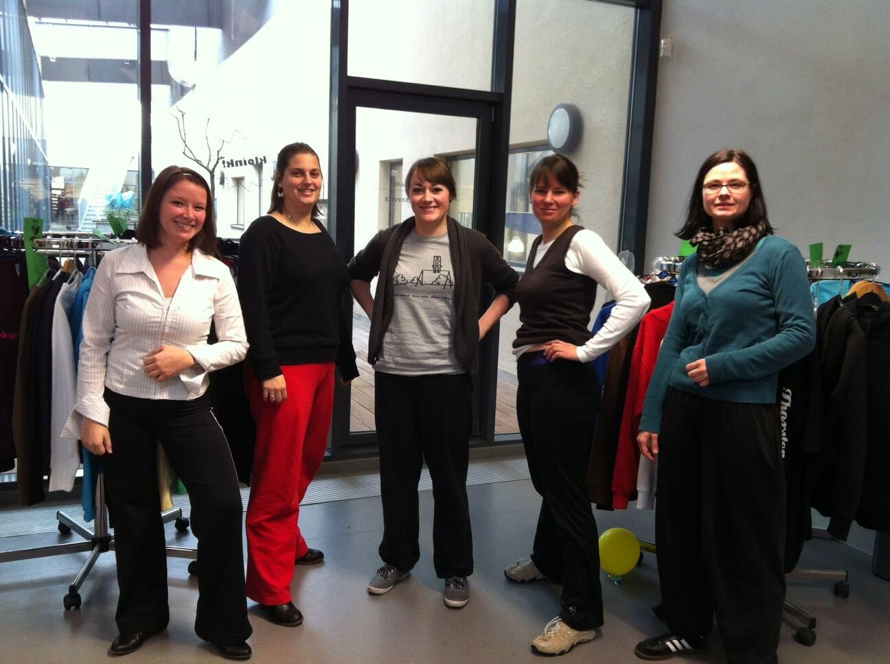 International Sweatpants Day 2018 - January 21