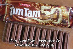 Tim Tam Day 2018 - February 16