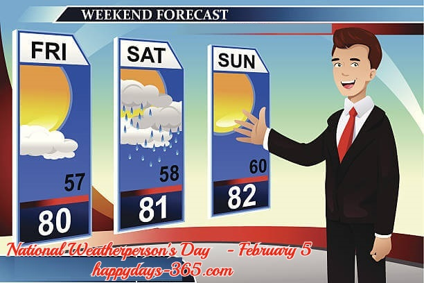 National Weatherperson's Day – February 5, 2019