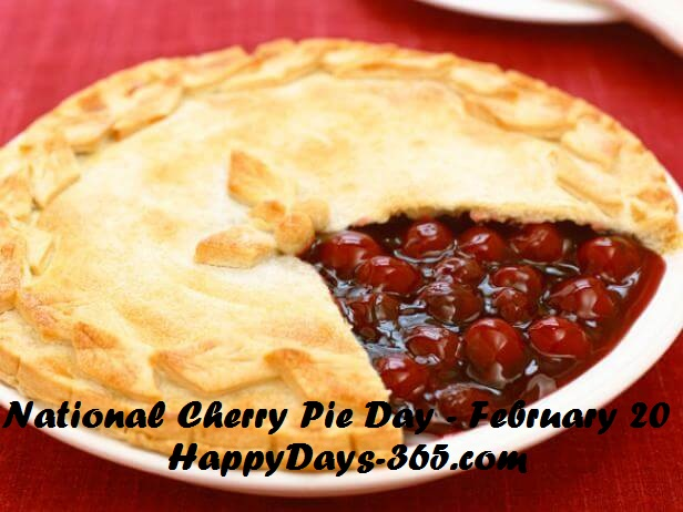 National Cherry Pie Day – February 20, 2019
