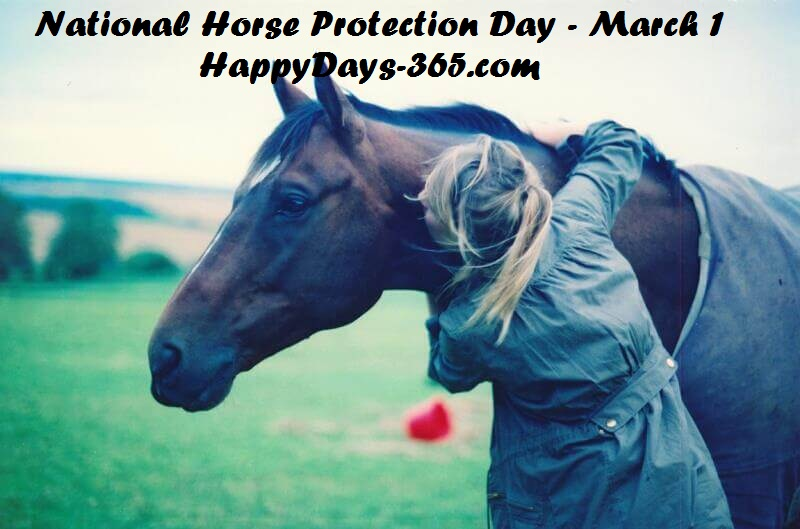 National Horse Protection Day –  March 1, 2019