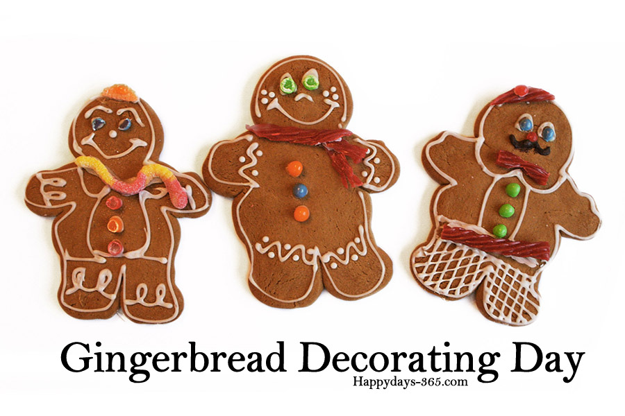 Gingerbread Decorating Day – December 14, 2019