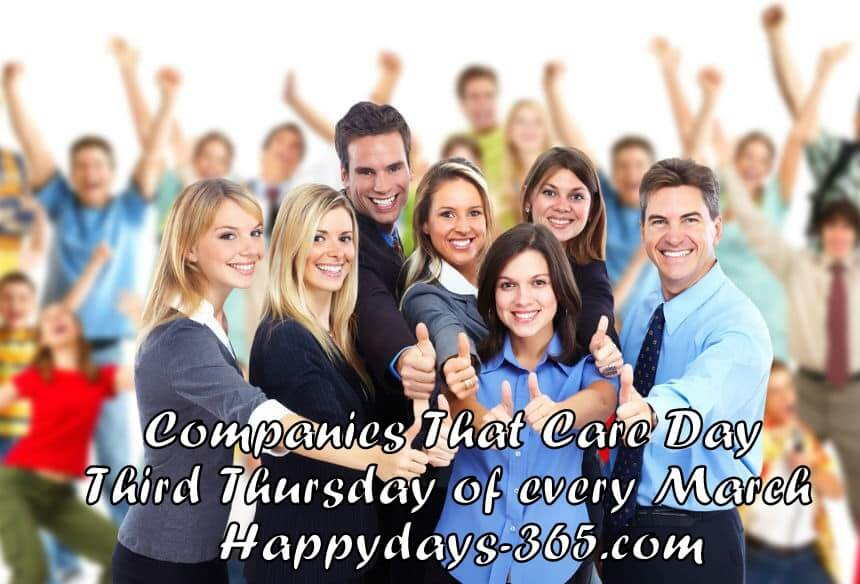 Companies That Care Day – March 15, 2018