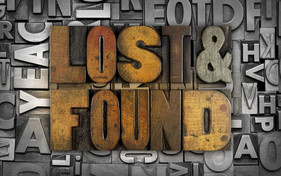 Lost And Found Day – December 13, 2019
