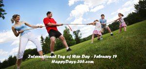 International Tug of War Day