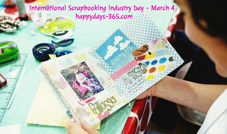 International Scrapbooking Industry Day – March 4, 2020