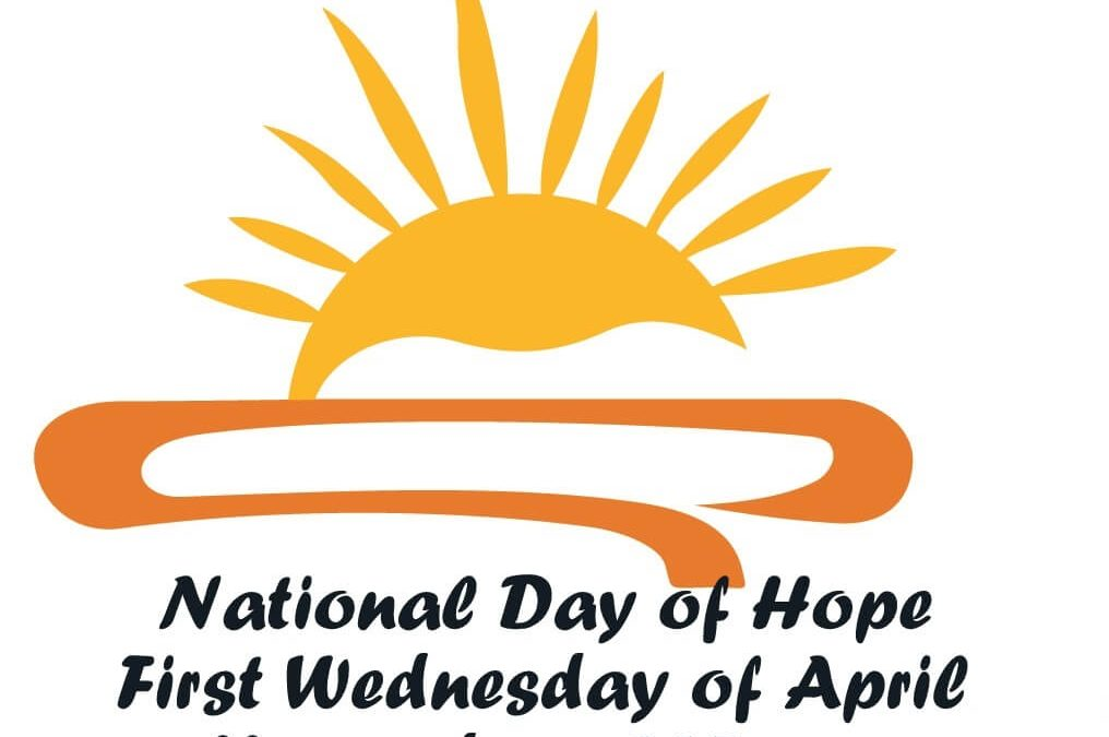 National Day of Hope – April 3, 2019