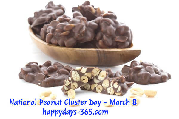 National Peanut Cluster Day – March 8, 2020