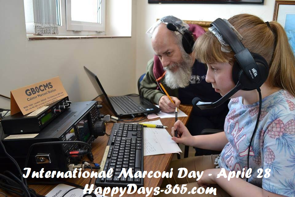 International Marconi Day – April 28, 2018
