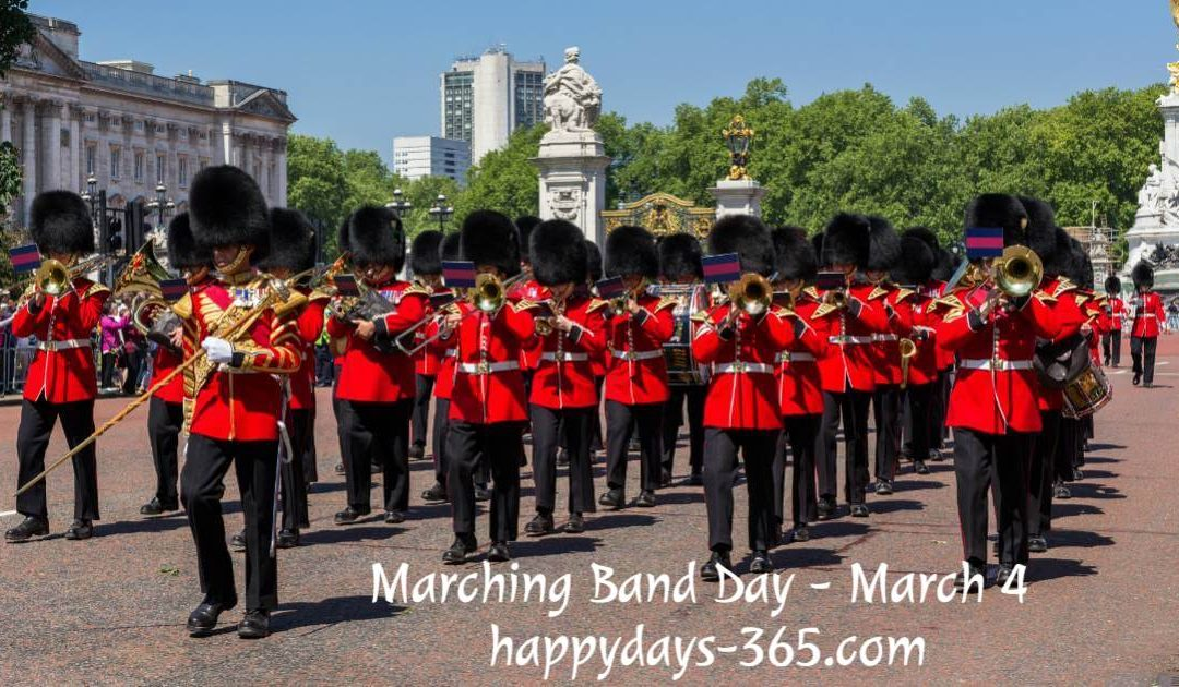 Marching Band Day – March 4, 2019