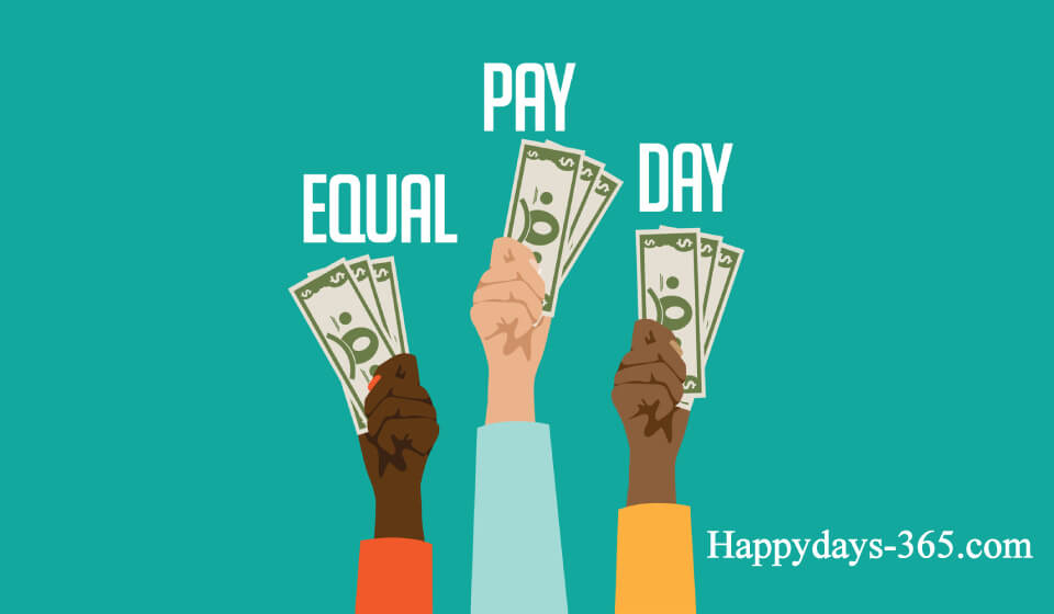 Equal Pay Day – April 9, 2019