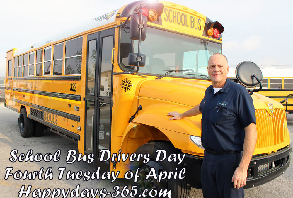 School Bus Drivers Day – April 24, 2018