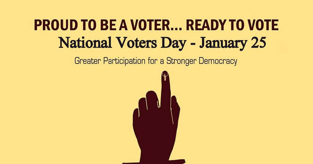 National Voters Day in India – January 25, 2021