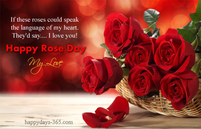 Happy Rose Day – February 7, 2019