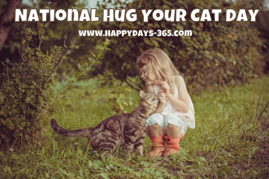 National Hug Your Cat Day