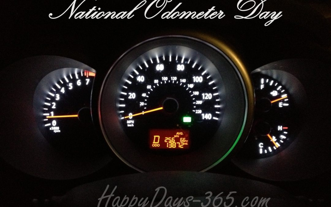 National Odometer Day – May 12, 2020