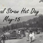 National Straw Hat Day