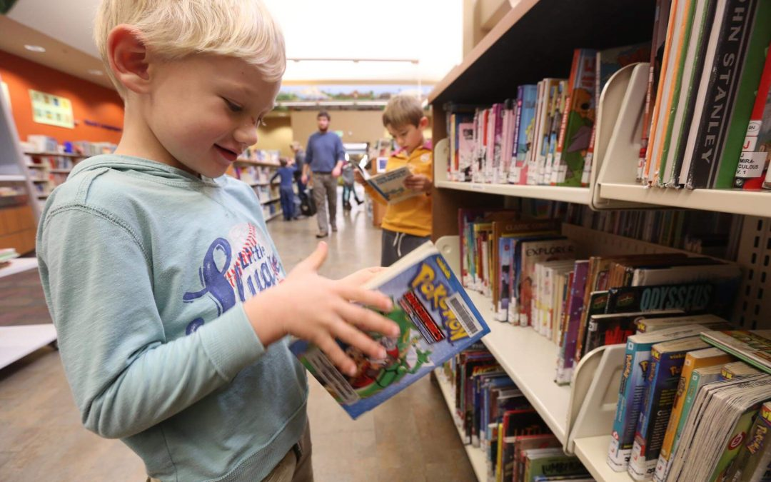 Take Your Child To The Library Day – February 1, 2020