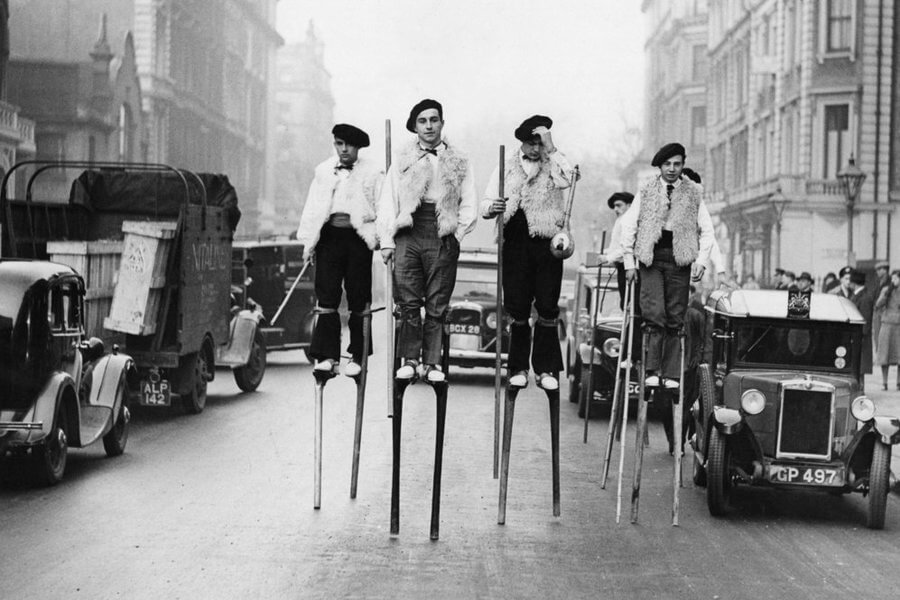National Walk on Stilts Day