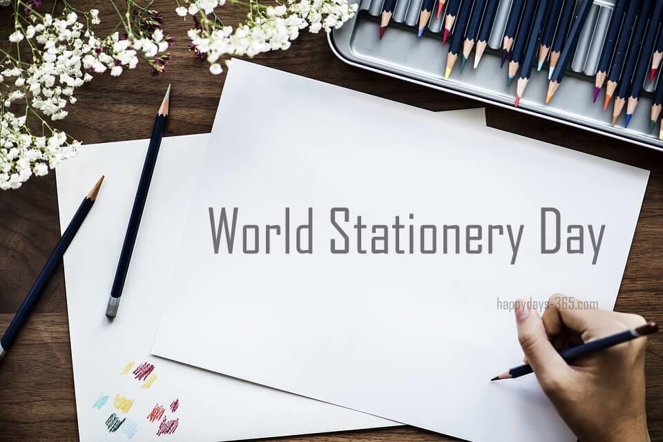 World Stationery Day – April 25, 2018
