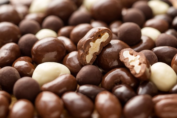 National Chocolate Covered Cashew Day – April 21, 2021