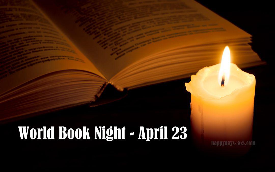 World Book Night – April 23, 2018