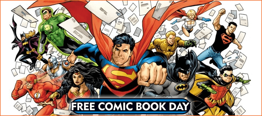 Free Comic Book Day – May 1, 2021