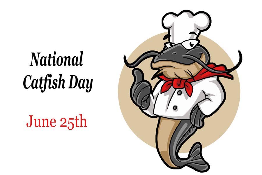 National Catfish Day – June 25, 2020