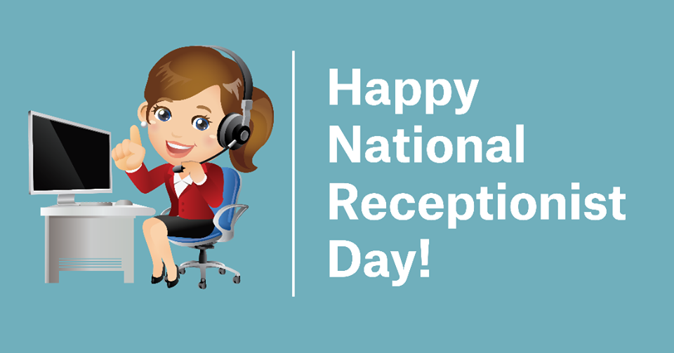 National Receptionists Day – May 12, 2021