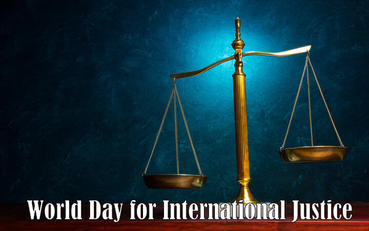 World Day for International Justice – July 17, 2019