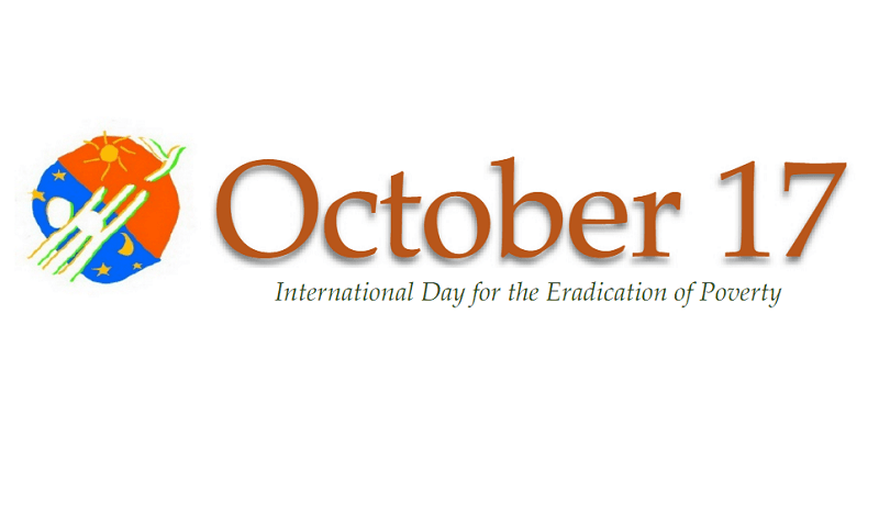 International Day for the Eradication of Poverty – October 17, 2019