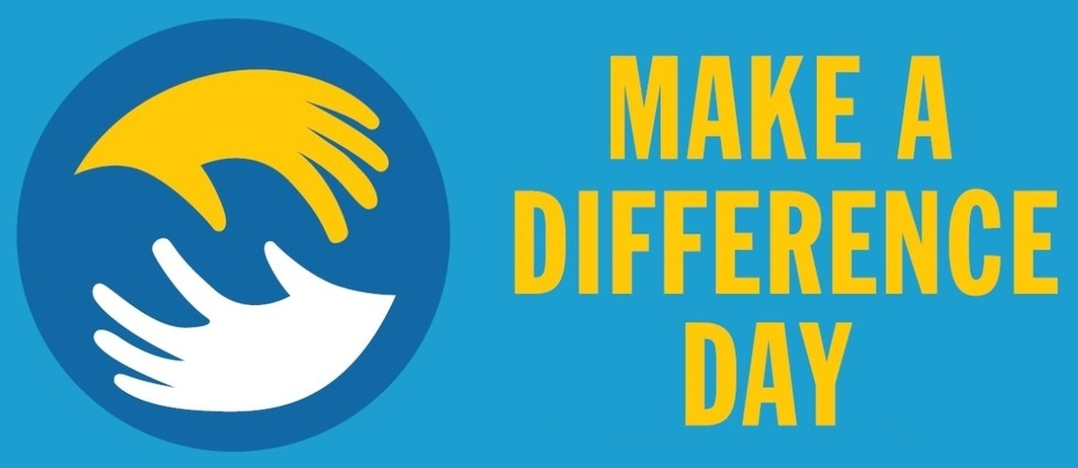 National Make A Difference Day – October 26, 2019
