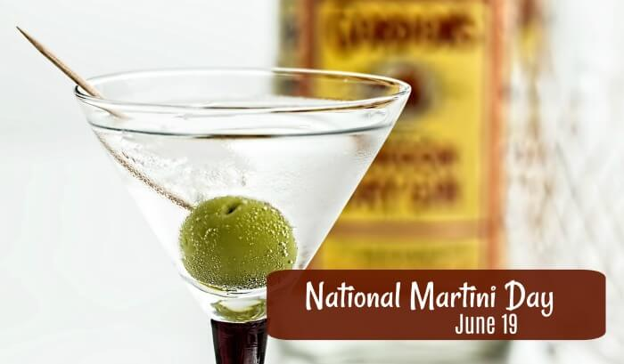 National Martini Day – June 19, 2020