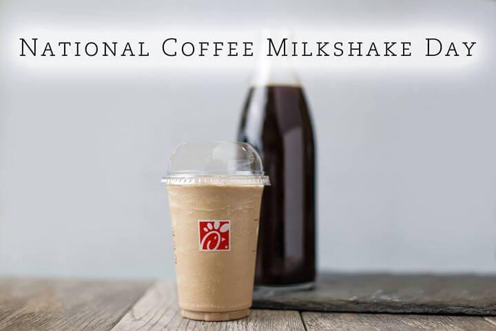 National Coffee Milkshake Day – July 26, 2021