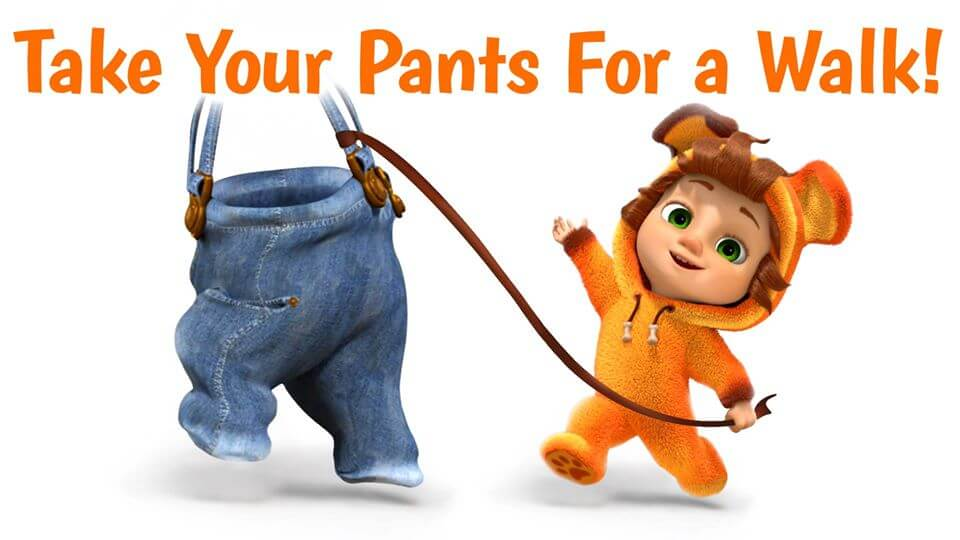 National Take Your Pants for a Walk Day – July 27, 2021