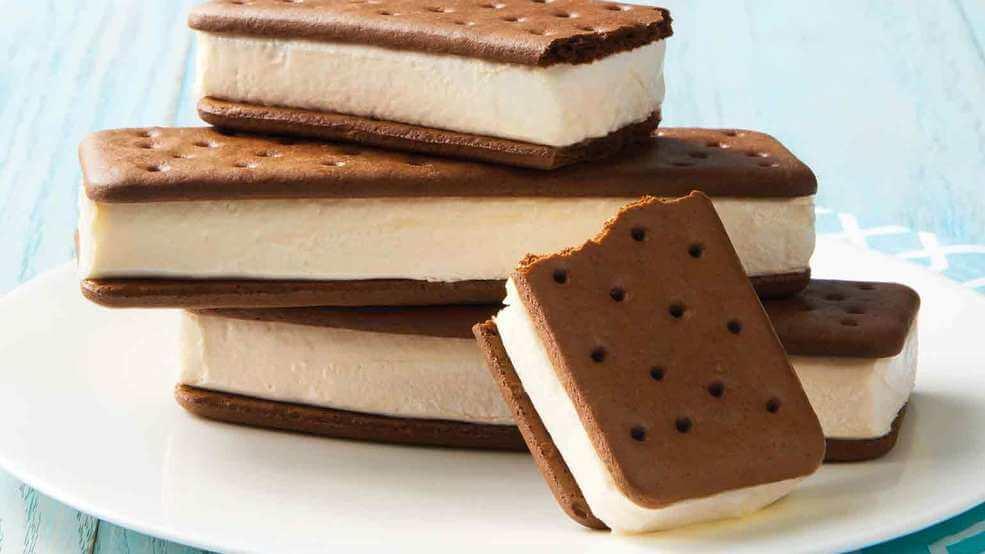 National Ice Cream Sandwich Day – August 2, 2020