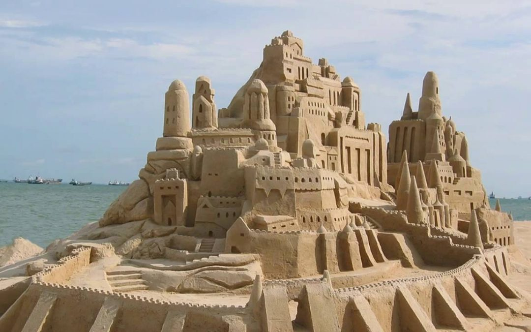 Happy Sandcastle Day – August 1, 2020