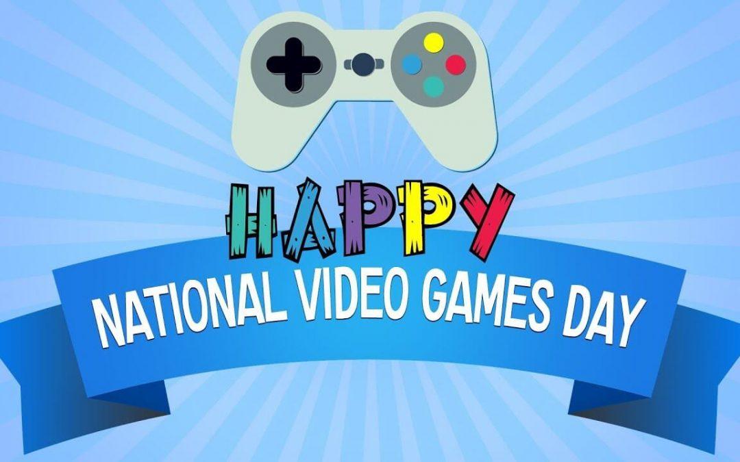 National Video Games Day – September 12, 2021