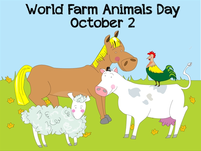World Farm Animals Day – October 2, 2021