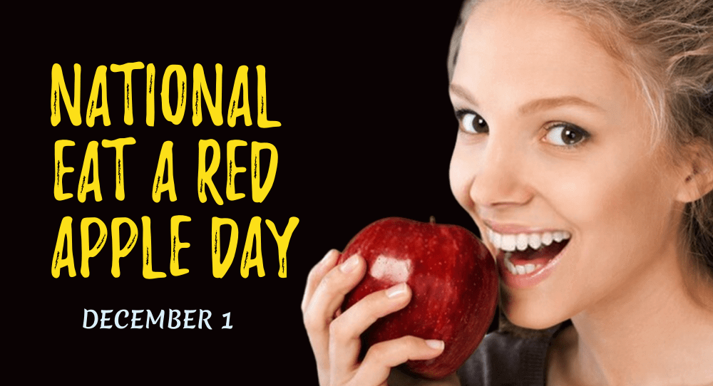 National Eat A Red Apple Day
