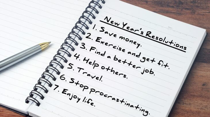 Ditch New Year's Resolutions Day – January 17, 2021