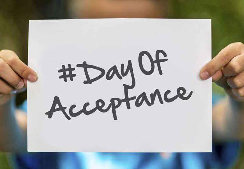International Day of Acceptance – January 20, 2021
