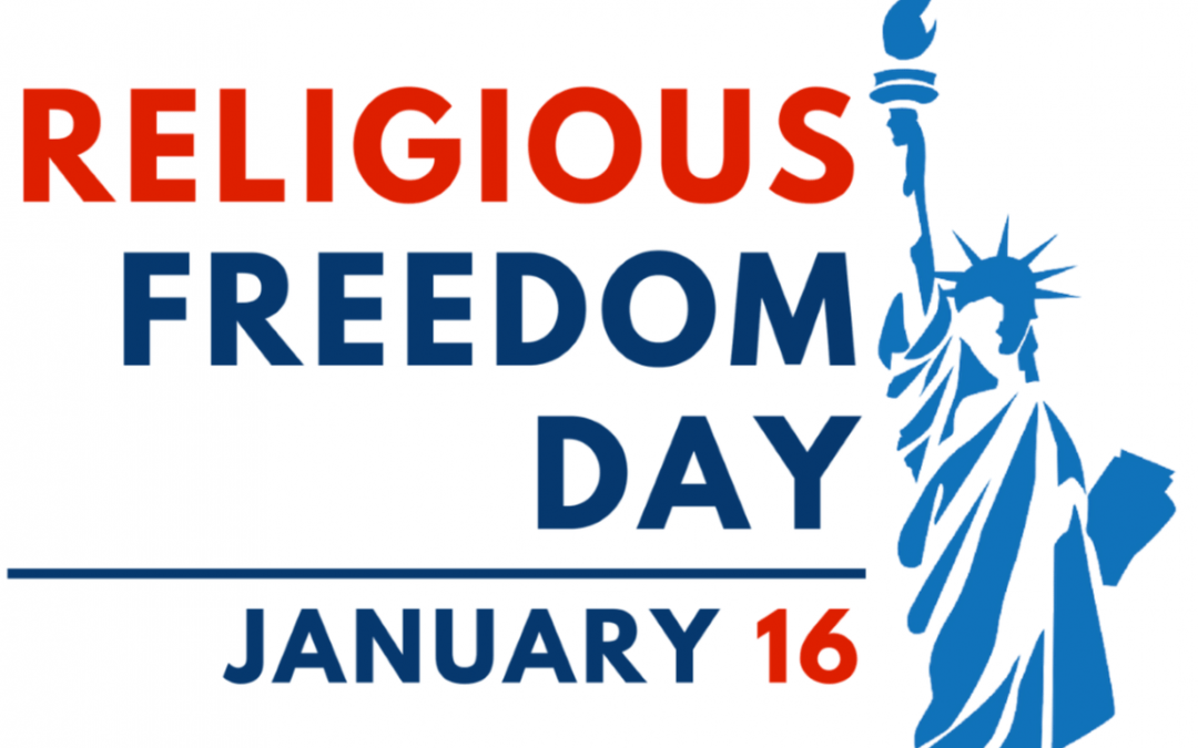 National Religious Freedom Day – January 16, 2021