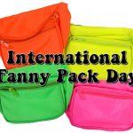 International Fanny Pack Day