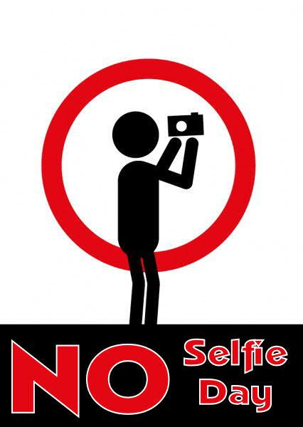 No Selfies Day – March 16, 2021