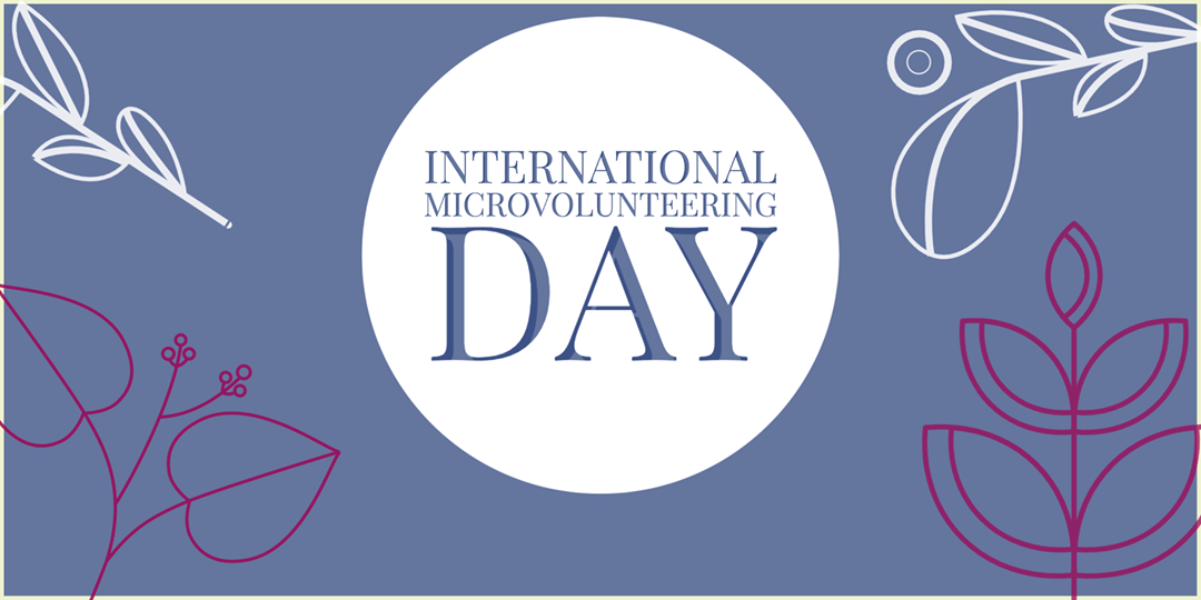 International Microvolunteering Day – April 15, 2021