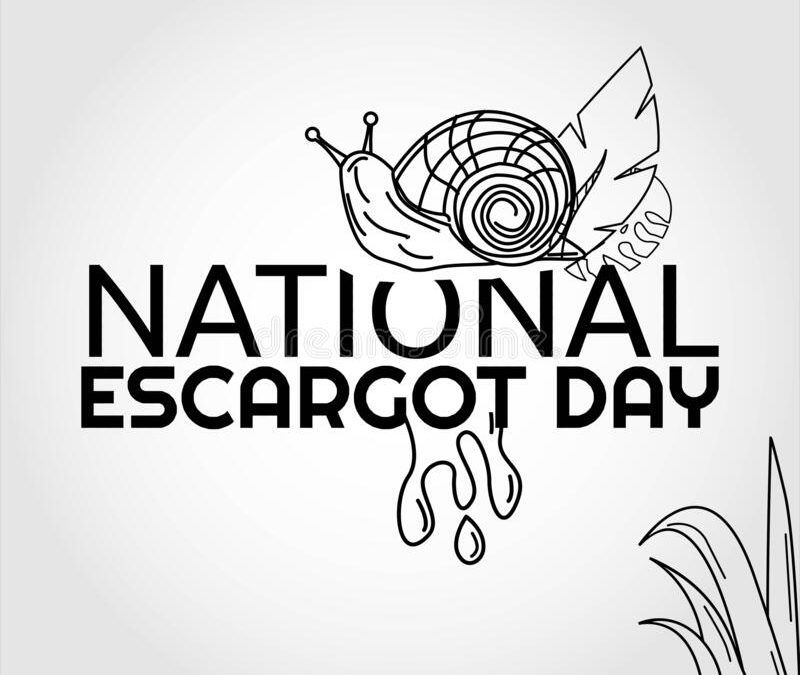 National Escargot Day – May 24, 2021