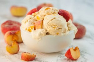 National Peach Ice Cream Day