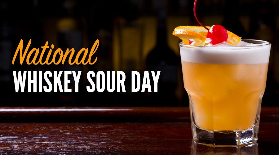 National Whiskey Sour Day – August 25, 2021